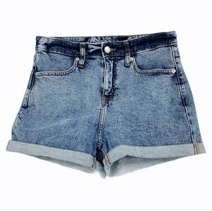 High Rise Shorts by wild fable
